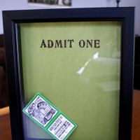 Ticket Stub Memory Box – Tutorial