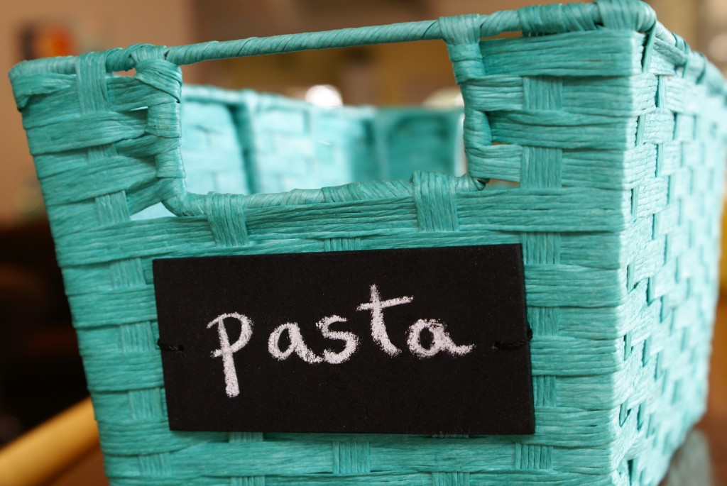 DIY Chalkboard Label Tutorial by The Thinking Closet