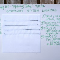 Sewing 101: First Stitches