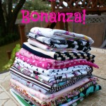 It's a Fabric Bonanza via The Thinking Closet