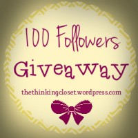 100 Followers Giveaway!