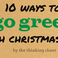 10 Ways to Go Green with Christmas Cards