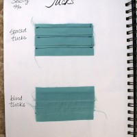 Sewing 101: Tucks