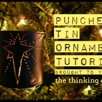 Punched Tin Ornament Tutorial – Guest Posting at Lines Across
