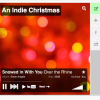 An Indie Christmas: Free Mix & Printable