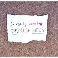 The Art of the Surprise Note