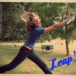 One Word for 2013: LEAP by The Thinking Closet