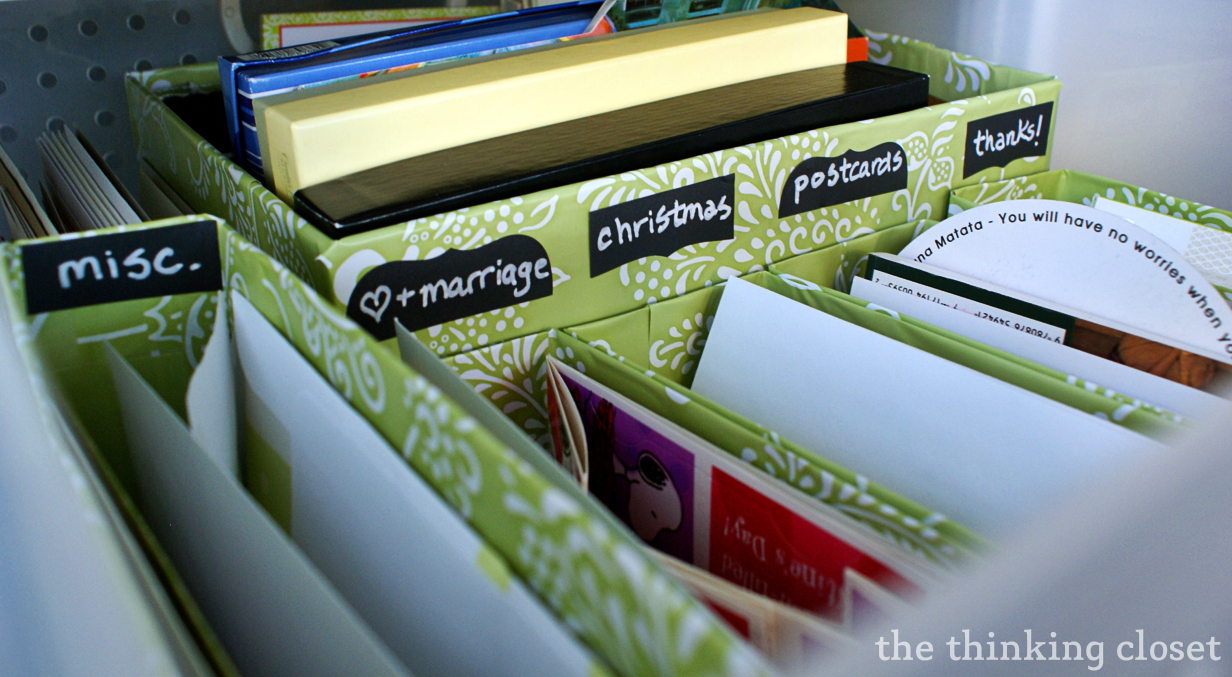 Craft Drawer Organization for the Budget Savvy by Lauren from The Thinking Closet