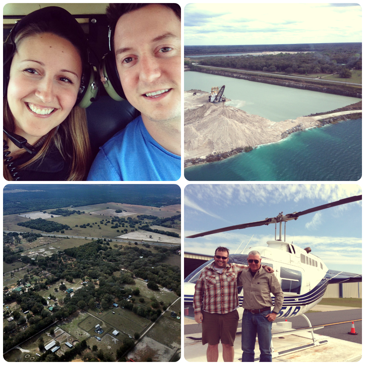 You know you're in Florida when....  Helicopter Ride.  By The Thinking Closet