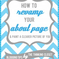 "How to Revamp Your ""About"" Page"