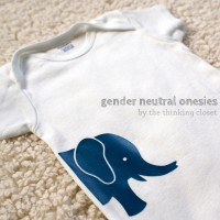 Gender Neutral Onesies & Free Cut Files