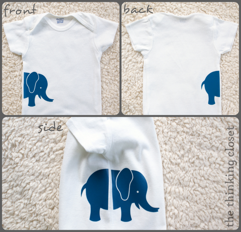 Gender Neutral Onesies Amp Free Cut Files The Thinking Closet