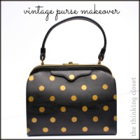 Vintage Purse Makeover