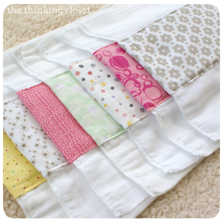 Baby Burp Cloths Made From Diapers