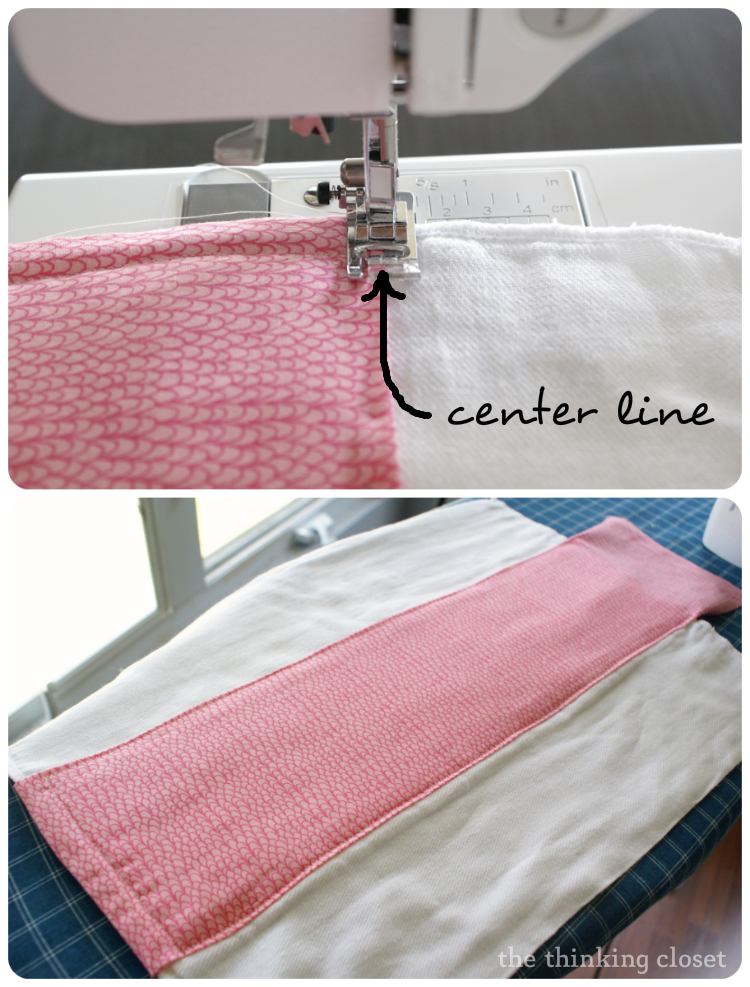 Burp Cloth Tutorial for the Beginner Sewist by The Thinking Closet. Burp Cloth Tutorial for the Beginner Sewist   the thinking closet