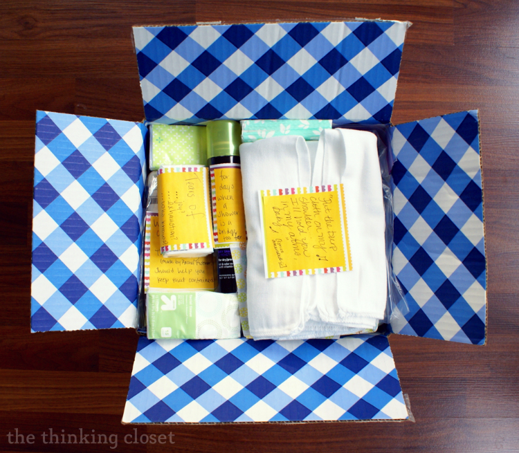 New Mommy Survival Kit   The Thinking Closet