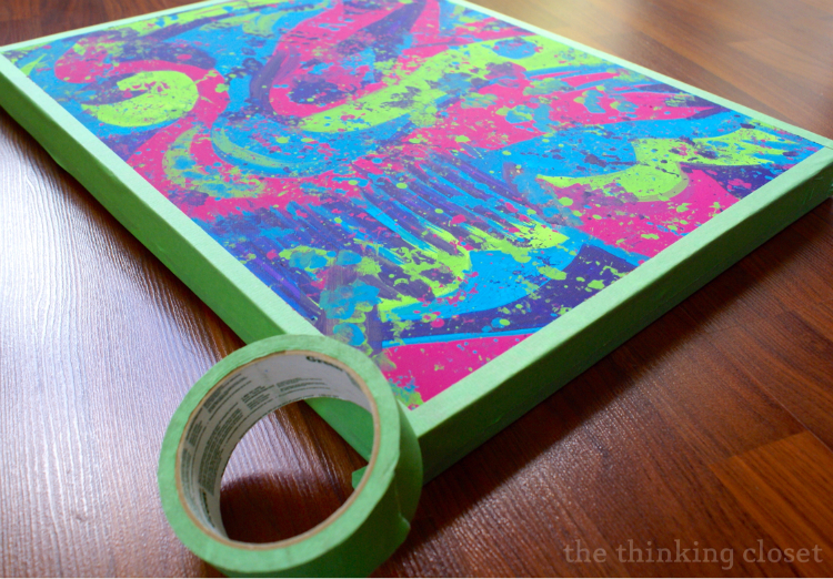 D.I.Y. Subway Art Canvas Tutorial & Free Cut File | The Thinking Closet