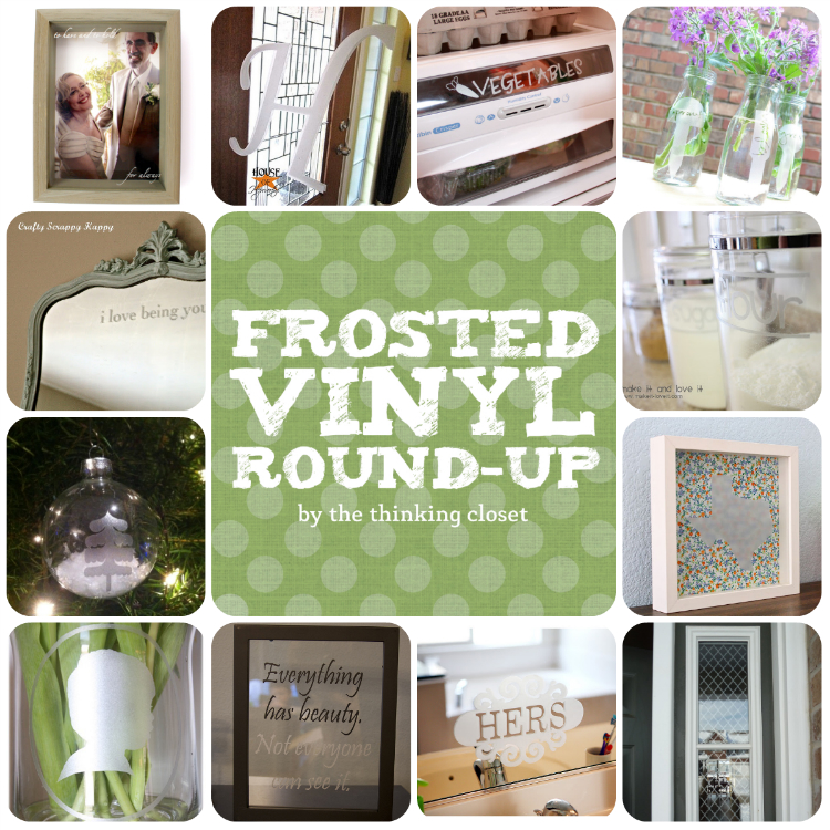 Frosted Vinyl Round-Up | The Thinking Closet
