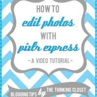 How to Edit Photos with Pixlr Express: A Video Tutorial