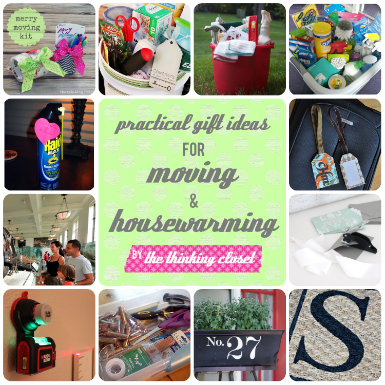 Practical Gift Ideas for Moving & Housewarming | The Thinking Closet