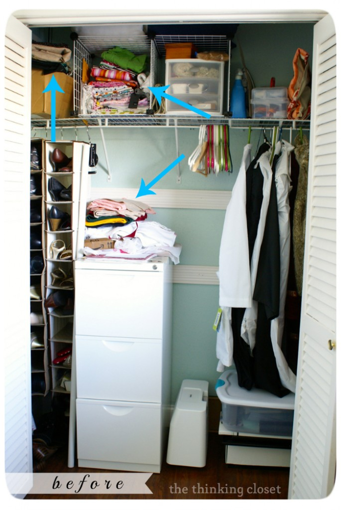 Fabric Organization by The Thinking Closet