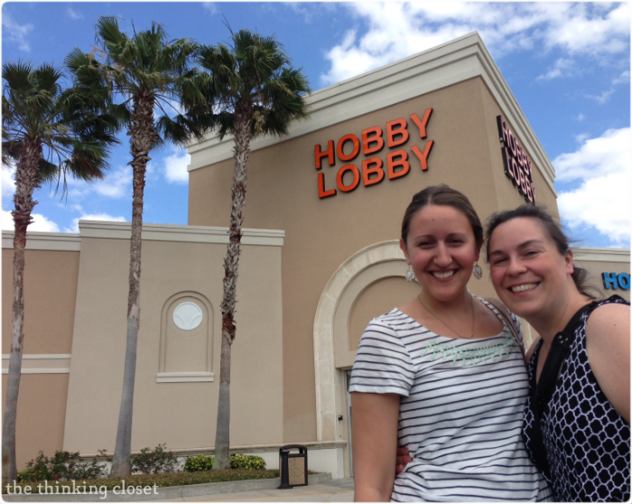 Hobby Lobby Run! | The Thinking Closet