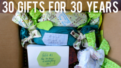 30 Gifts to Celebrate 30 Years via The Thinking Closet