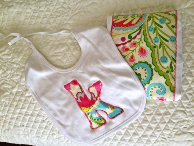 Burp Cloth & Bib | Reader Showcase at The Thinking Closet