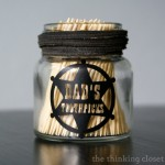 A Cowboy's Toothpick Holder | The Thinking Closet