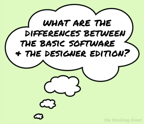 Special Silhouette Promotion on Designer Edition Software via The Thinking Closet