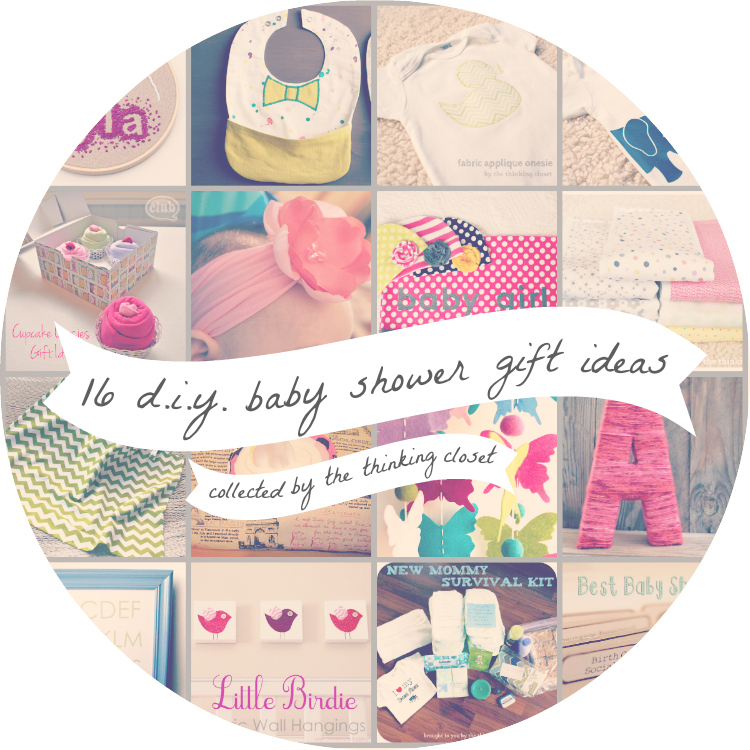 16 Diy Baby Shower Gift Ideas The Thinking Closet