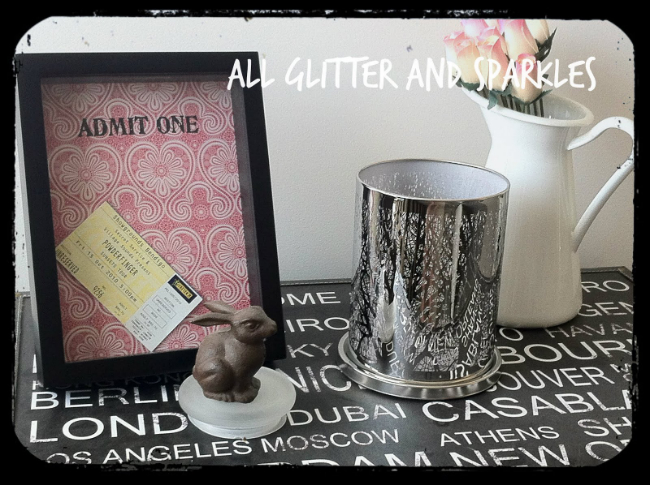 Ticket Stub Memory Box | Reader Showcase at The Thinking Closet