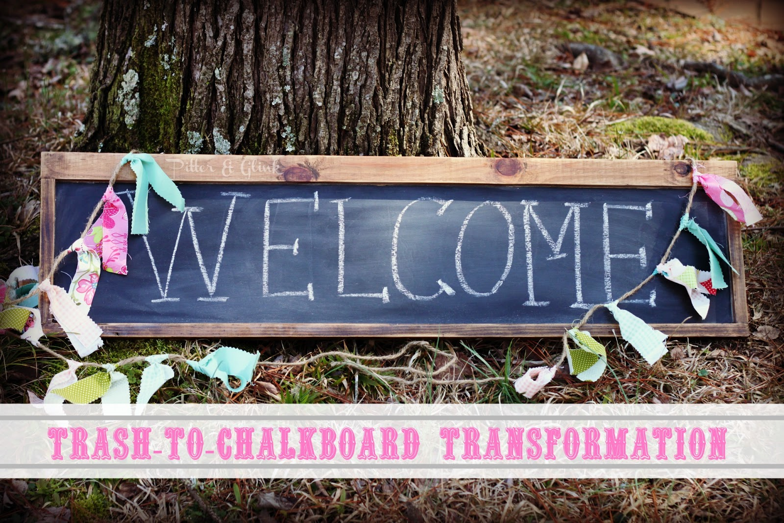 20 DIY Chalkboard Projects - the thinking closet