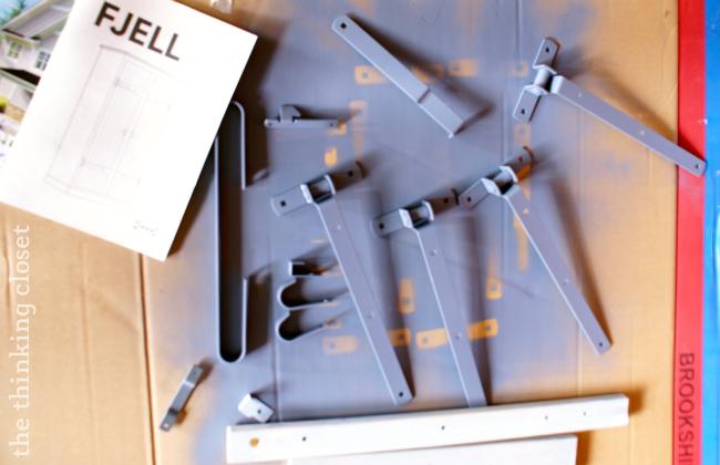 IKEA Hack: FJELL Wardrobe   The Thinking Closet