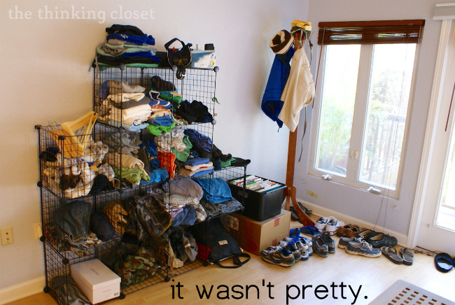 "IKEA Hack: Fjell Wardrobe...the ""before"" 