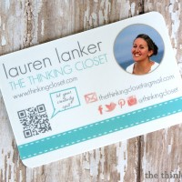 My New MOO Business Cards & Giveaway for 3!
