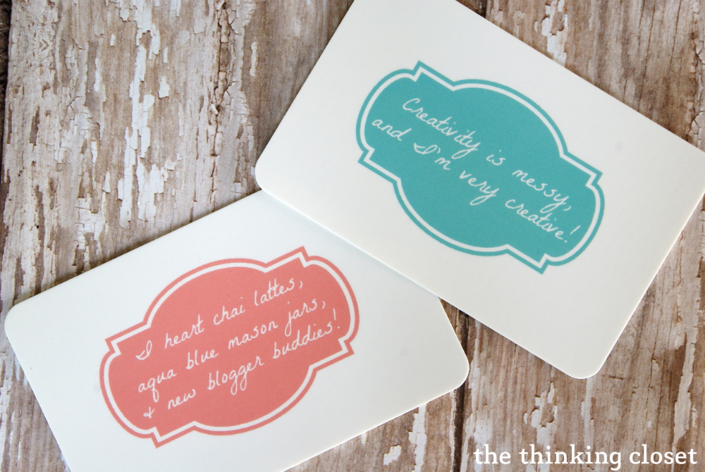 My New MOO Business Cards & Giveaway — the thinking closet