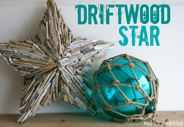 Driftwood Star at Michelle Paige