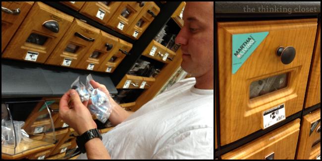 Martha Stewart Living 1-3/16 in. Discus Cabinet Hardware Knob