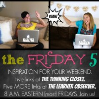 The Friday Five: Version 2.0