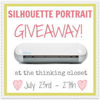 A Reminder to Laugh & Silhouette Giveaway Winner