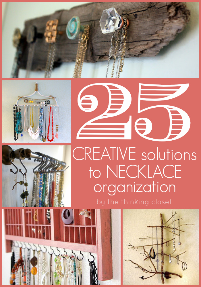 25 creative solutions to necklace organization the for Creative organization