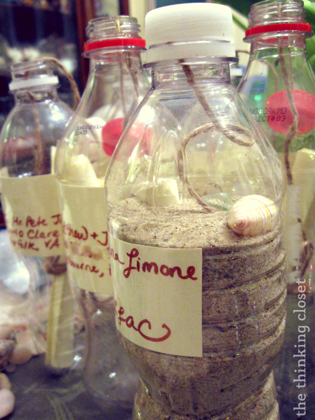 Message in a Bottle: Will You Be My Bridesmaid?  Our DIY Wedding Series at The Thinking Closet