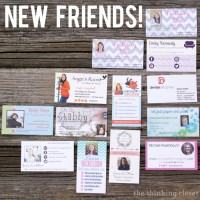 Haven Business Card Round-Up & MOO Giveaway Winners!