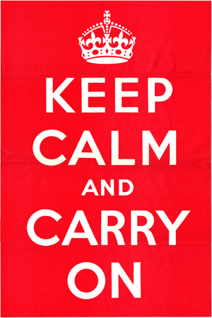 Original Keep Calm & Carry On