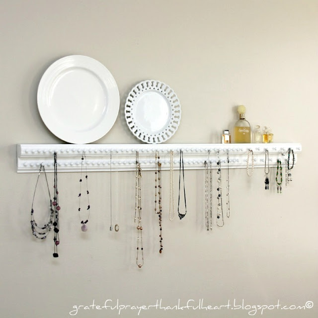 DIY Shelf with Tacks