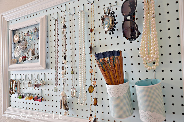 Creative Solutions for Necklace Organization by The Thinking Closet