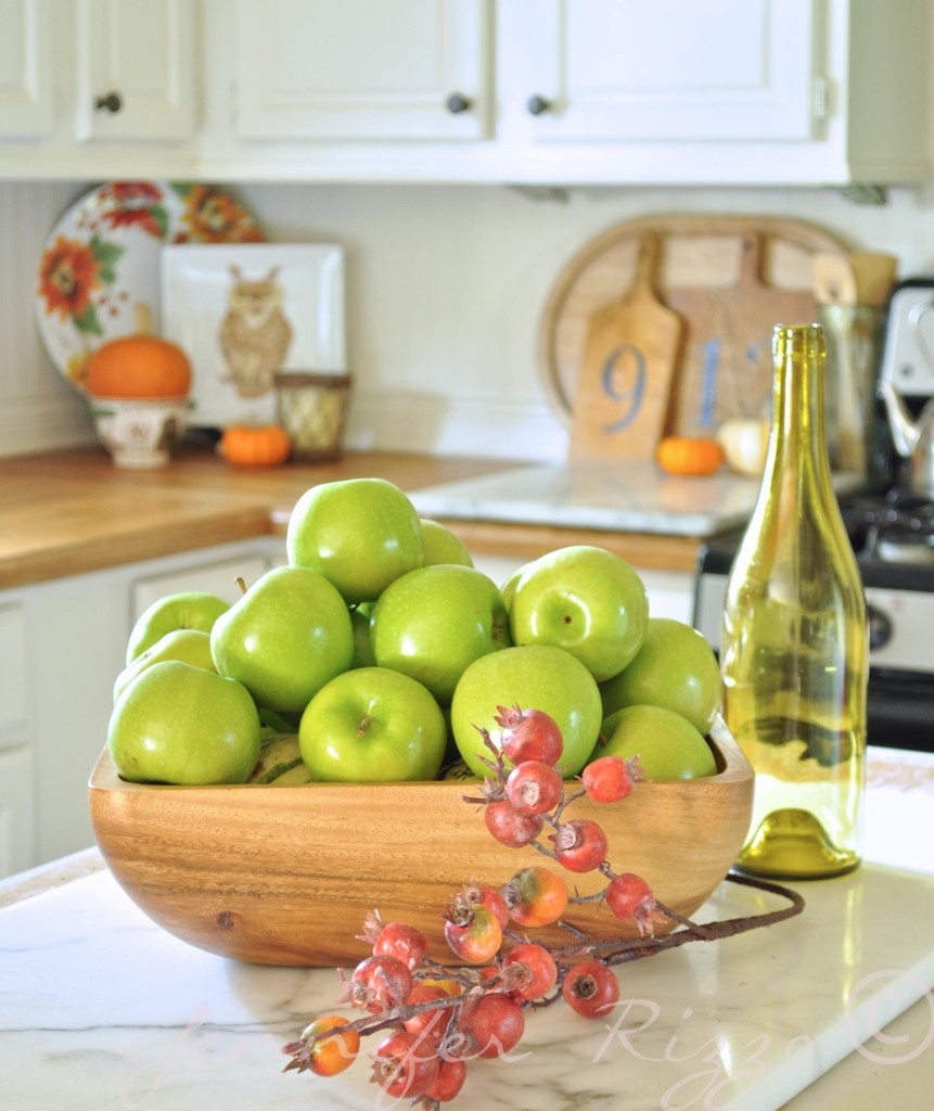 Kitchen Decor For Fall: Fall Decor: Lime Green Is The New Orange