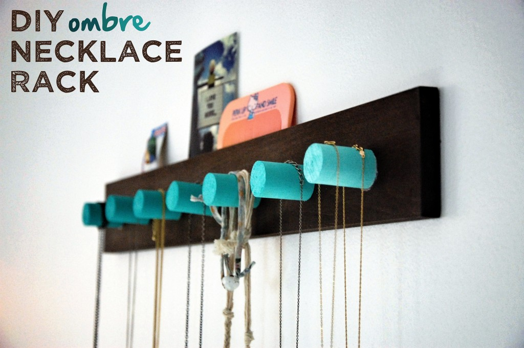 DIY Ombre Necklace Race | Well, It's Okay