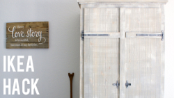 IKEA Wardrobe Hack via The Thinking Closet